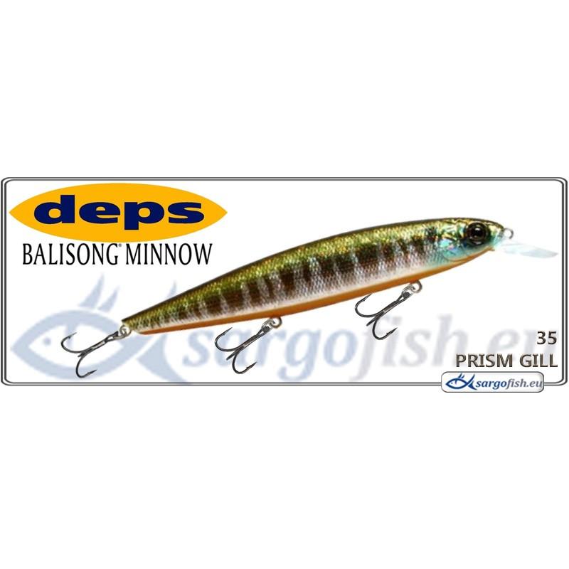 Воблер DEPS Balisong Minnow 130SP - 35