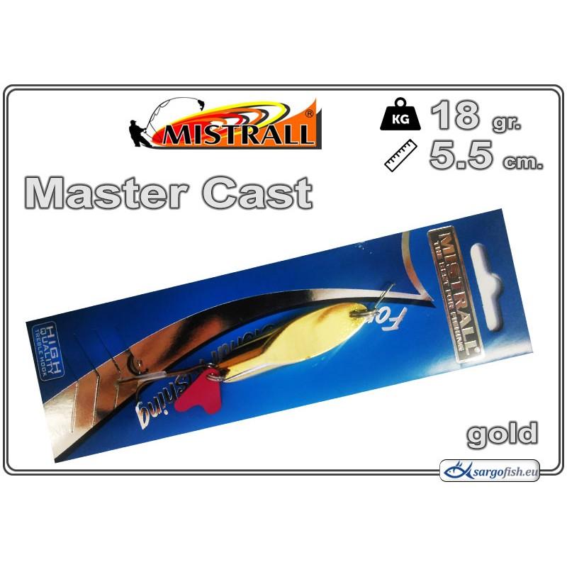Блесна MISTRALL Master Cast 18 - 02