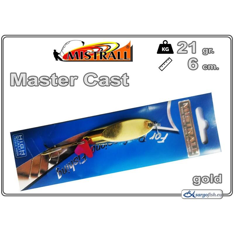 Блесна MISTRALL Master Cast 21 - 02