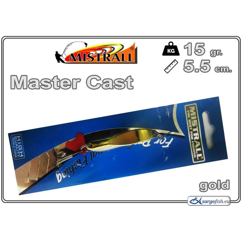 Блесна MISTRALL Long Cast 15 - 02