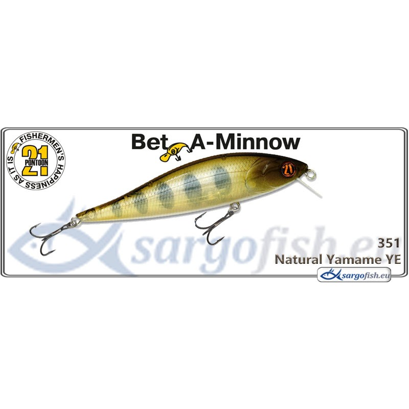 Воблер PONTOON 21 Bet-A-MINNOW SR 102F - 351