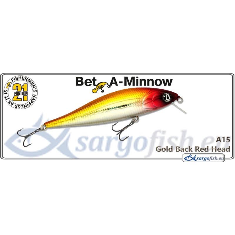 Воблер PONTOON 21 Bet-A-MINNOW SR 102F - A15