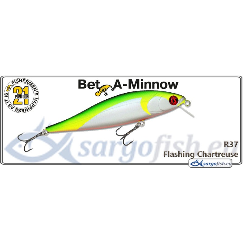Воблер PONTOON 21 Bet-A-MINNOW SR 102F - R37