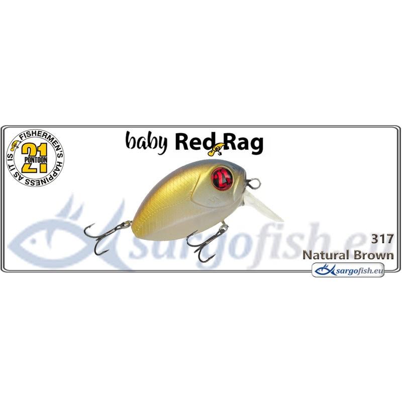 Воблер PONTOON 21 Baby Red Rag SR 32F - 317