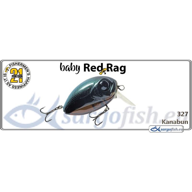 Воблер PONTOON 21 Baby Red Rag SR 32F - 327