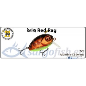 Воблер PONTOON 21 Baby Red Rag SR 32F - 729