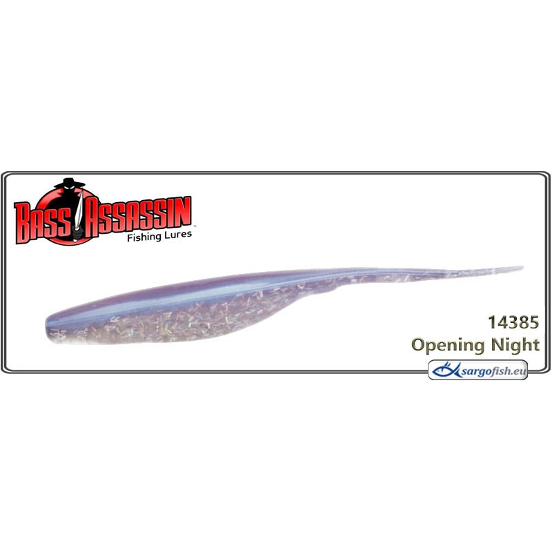Силиконовая приманка BASS ASSASSIN Shad 7.0 - 14385