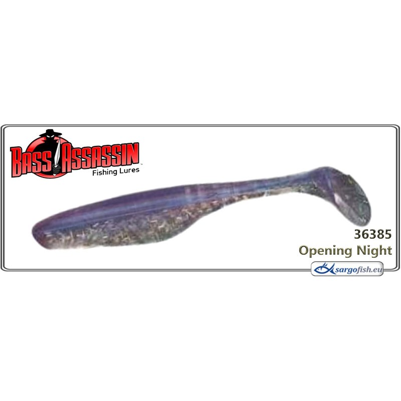 Силиконовая приманка BASS ASSASSIN Sea Shad 6.0 - 36385