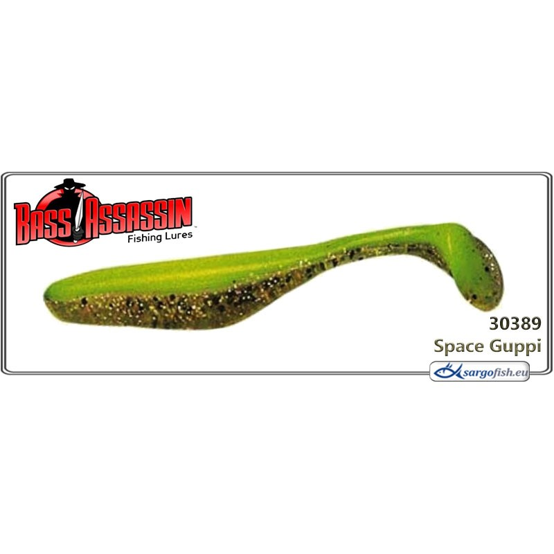 Силиконовая приманка BASS ASSASSIN Turbo Shad 4.0 - 30389