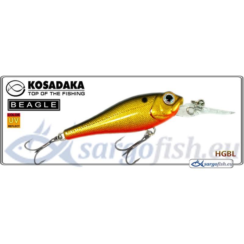 Воблер KOSADAKA Beagle XL 43F - HGBL