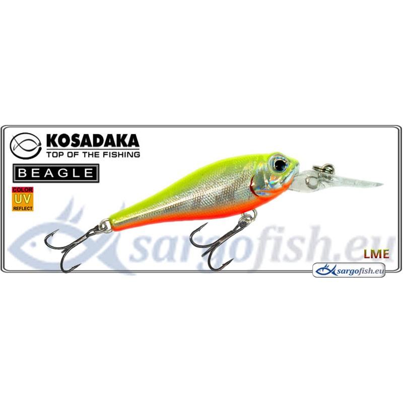 Воблер KOSADAKA Beagle XL 43F - LME