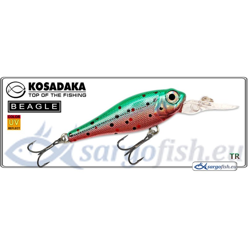 Воблер KOSADAKA Beagle XL 43F - TR