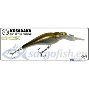 Воблер KOSADAKA Brisk XL 55F - CNT