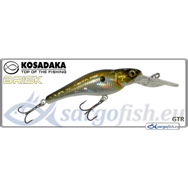 Воблер KOSADAKA Brisk XL 55F - GTR