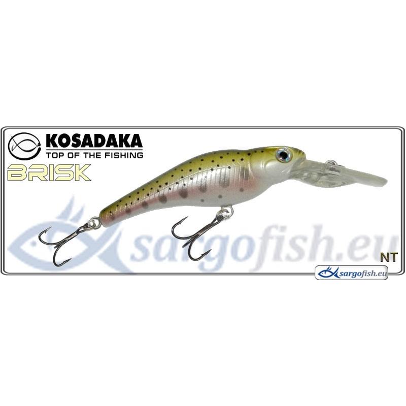 Воблер KOSADAKA Brisk XL 55F - NT