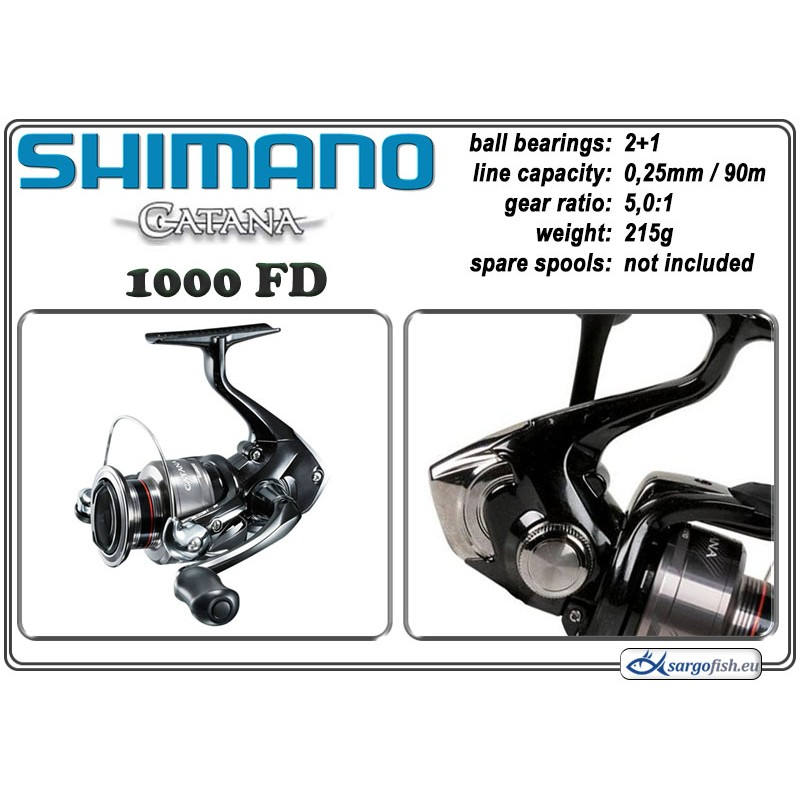 Катушка SHIMANO Catana - 1000 FD