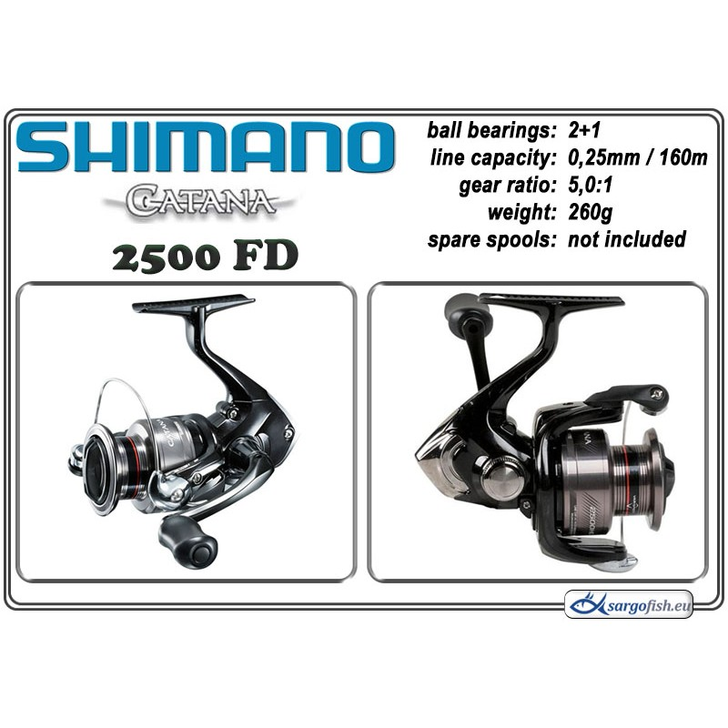Катушка SHIMANO Catana - 2500 FD