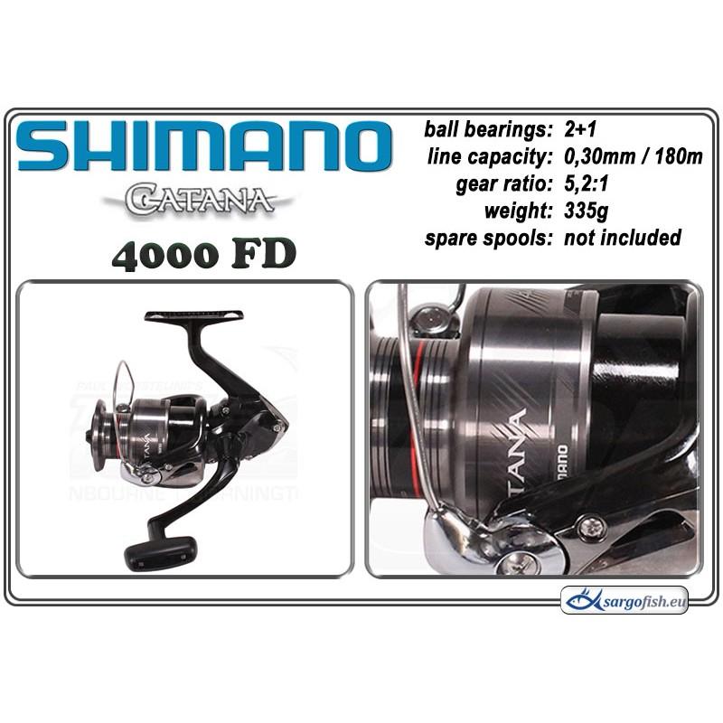 Катушка SHIMANO Catana - 4000 FD