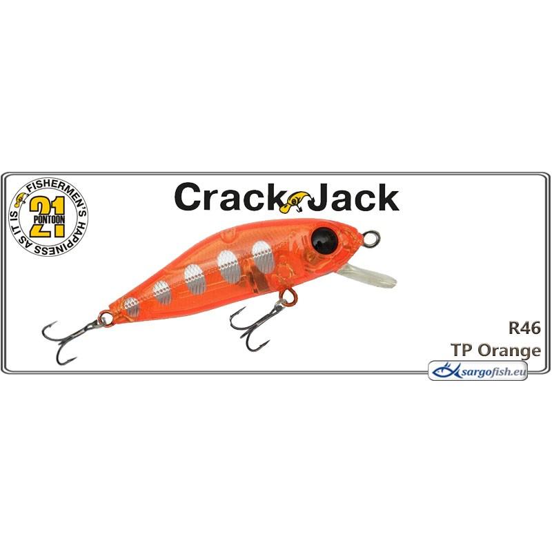 Воблер PONTOON 21 Crack JACK MR 38F - R46