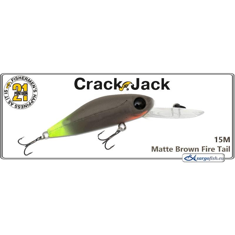 Воблер PONTOON 21 Crack JACK DR 48F - 15M