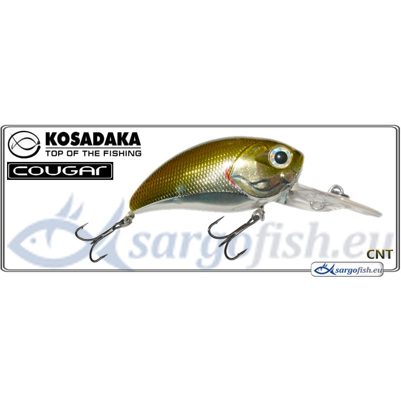 Воблер KOSADAKA Cougar XD 50F - CNT