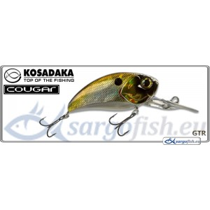 Воблер KOSADAKA Cougar XD 50F - GTR