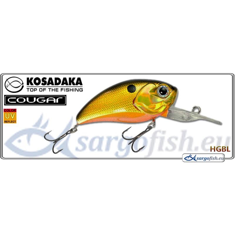 Воблер KOSADAKA Cougar XD 50F - HGBL