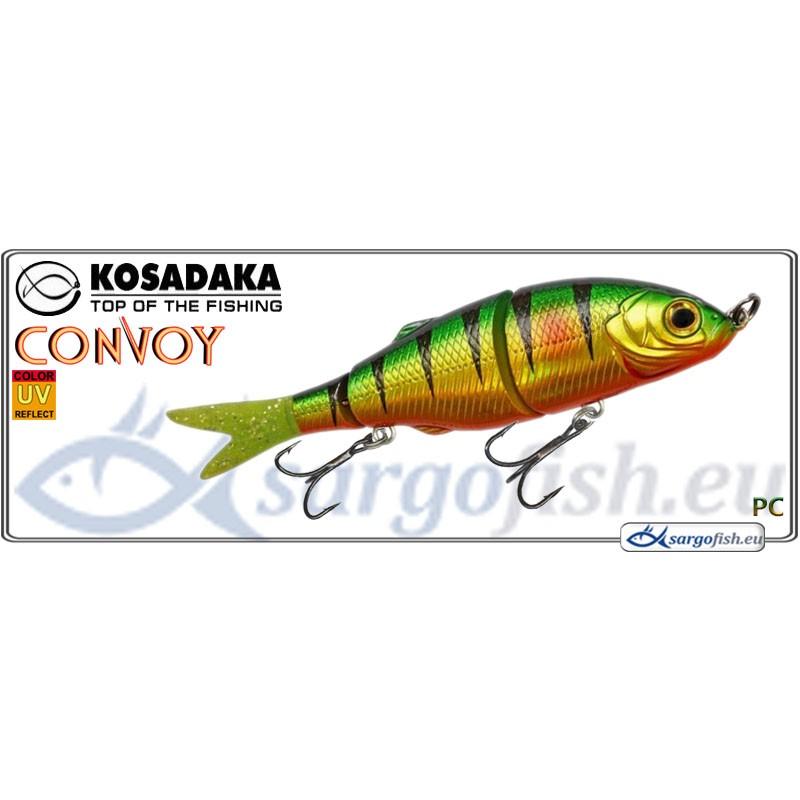 Воблер KOSADAKA Convoy 90S - PC