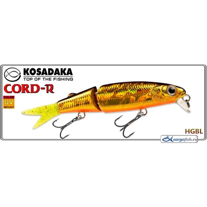 Воблер KOSADAKA Cord R XS 110F - HGBL