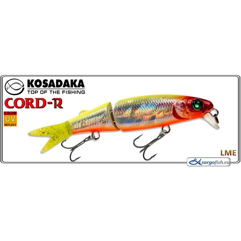 Воблер KOSADAKA Cord R XS 110F - LME