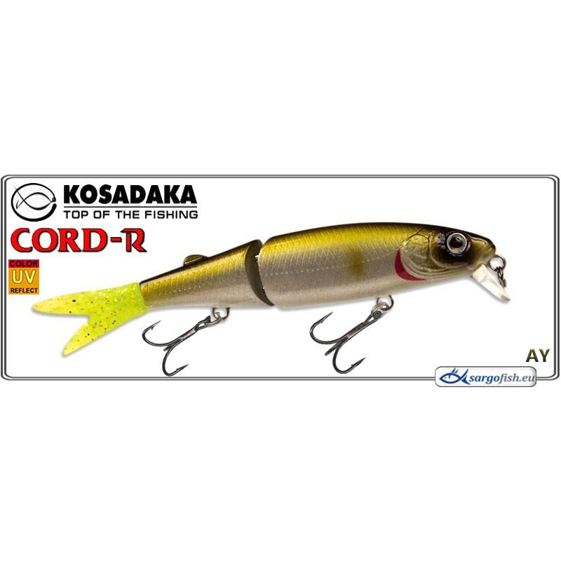 Воблер KOSADAKA Cord R XS 90F - AY