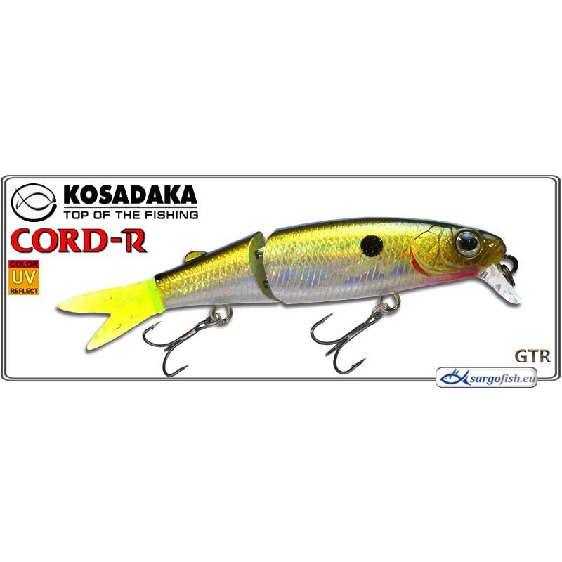 Воблер KOSADAKA Cord R XS 90F - GTR