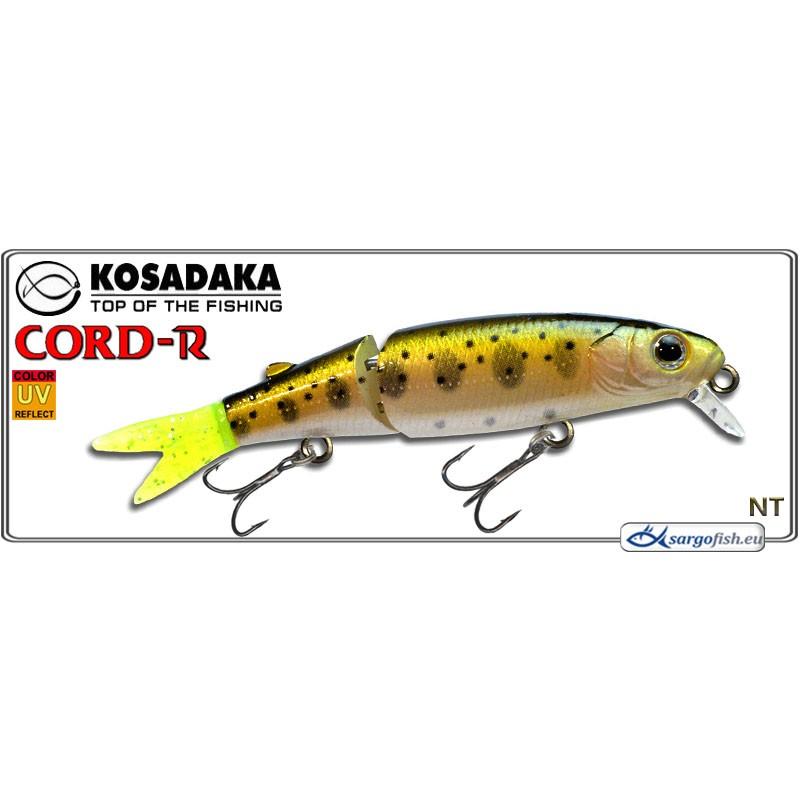 Воблер KOSADAKA Cord R XS 90SP - NT