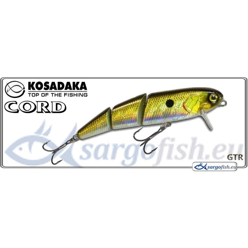 Воблер KOSADAKA Cord SH 60F - GTR