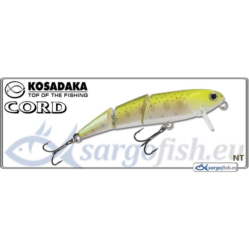 Воблер KOSADAKA Cord SH 60F - NT