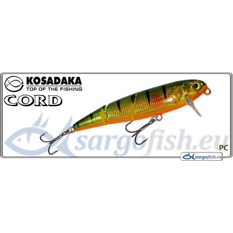 Воблер KOSADAKA Cord SH 60F - PC