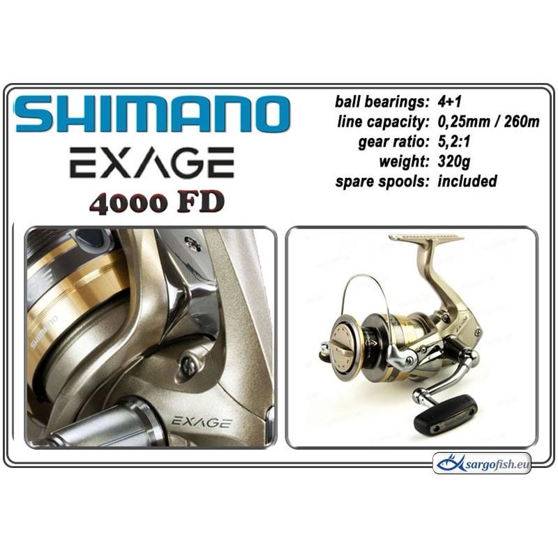 Катушка SHIMANO Exage - 4000 FD