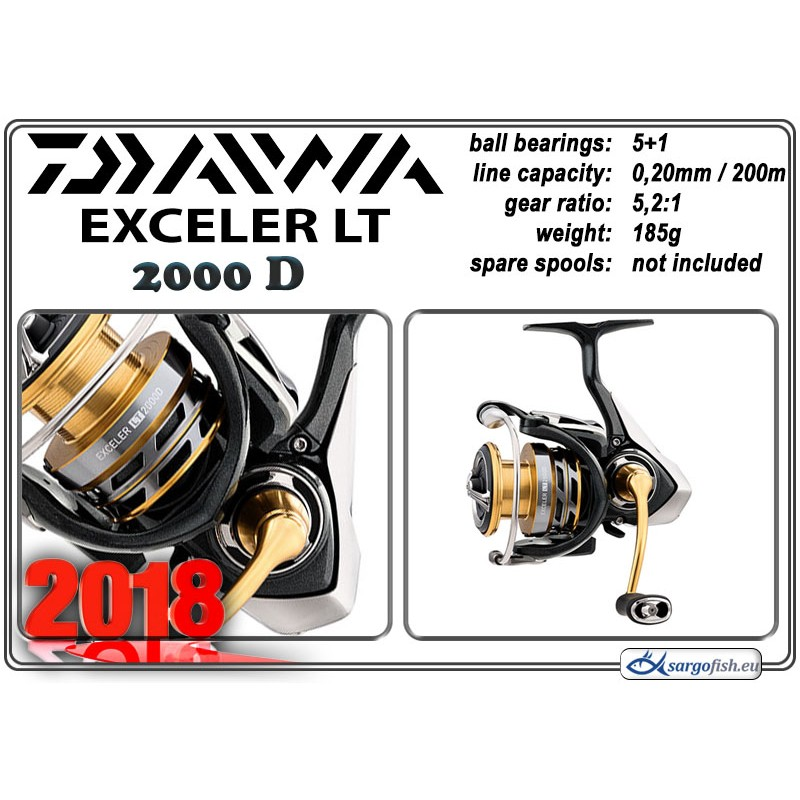 Катушка DAIWA Exceler LT - 2000D