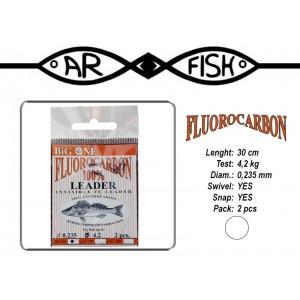 Поводок AR FISH Fluorocarbon 0.235 - 30