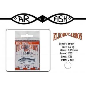 Поводок AR FISH Fluorocarbon 0.235 - 50