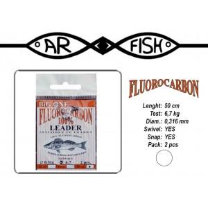 Поводок AR FISH Fluorocarbon 0.316 - 50