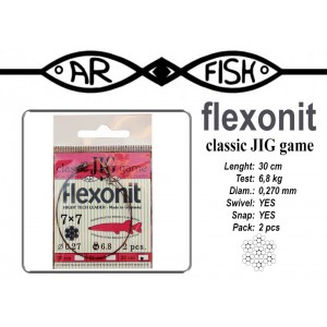 Поводок AR FISH Flexonite CLASSIC JIG game 7x7 (0.270 - 30)