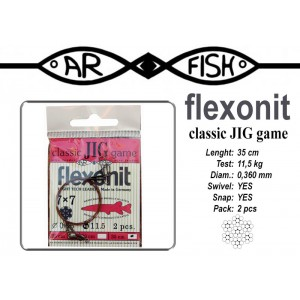 Поводок AR FISH Flexonite CLASSIC JIG game 7x7 (0.360 - 35)
