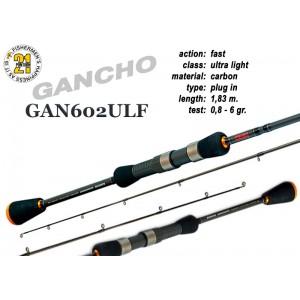 Спиннинг PONTOON 21 GanchO 602ULF - 183, 0.8-6