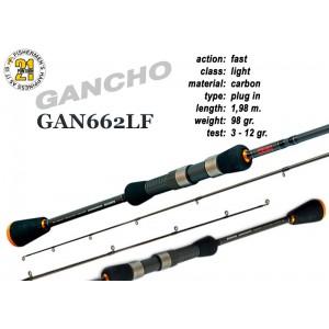 Спиннинг PONTOON 21 GanchO 662LF - 198, 3-12