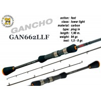 Спиннинг PONTOON 21 GanchO 662LLF - 198, 1.5-8