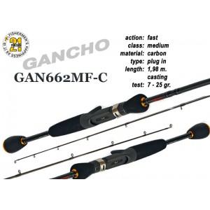 Спиннинг PONTOON 21 GanchO 662MF-C - 198, 7-25