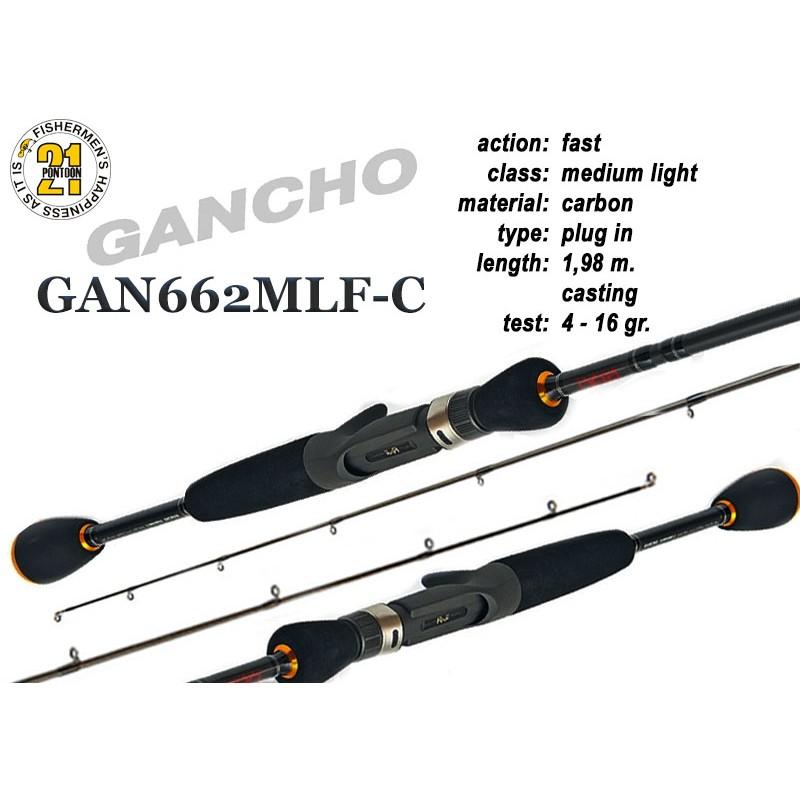 Спиннинг PONTOON 21 GanchO 662MLF-C - 198, 4-16