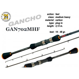 Спиннинг PONTOON 21 GanchO 702MHF - 213, 14-48