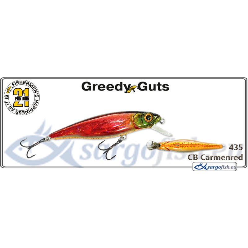 Воблер PONTOON 21 Greedy GUTS SR 66F - 435